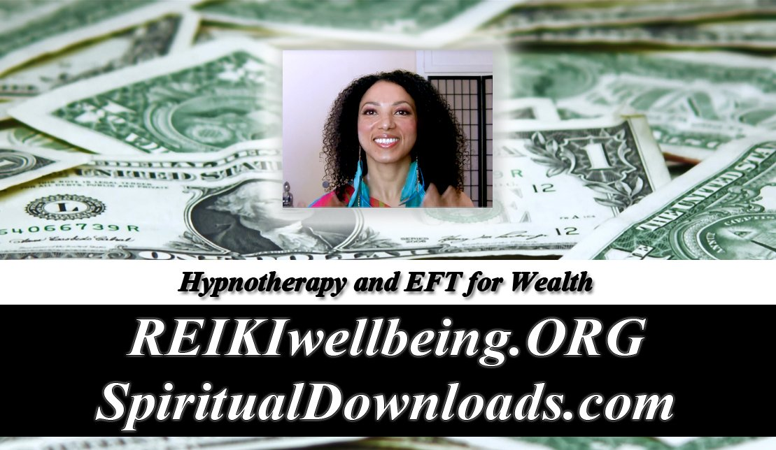 EFT and Hypnotherapy ~ WEALTH