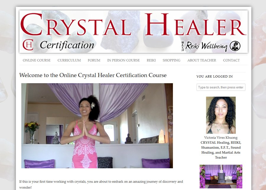 Crystal Healer Course